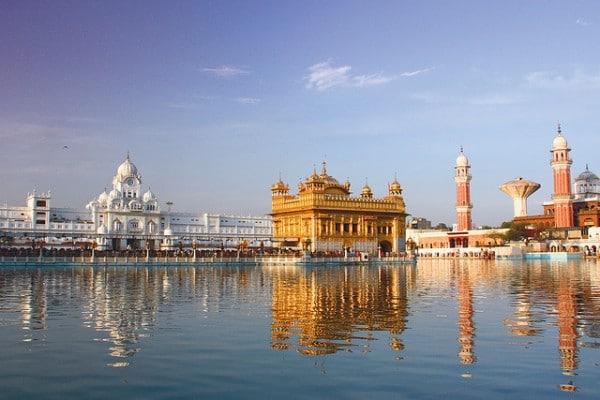 Le Temple d'Or à Amritsar en Inde