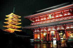 Temple Sensō-ji Tokyo