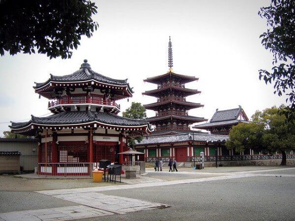 temple Shi Tennō-ji Osaka