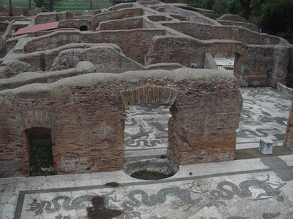 Thermes Ostia Antica