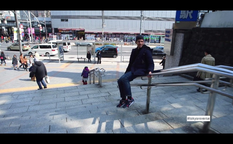 Tokyo Reverse : le monde à l'envers
