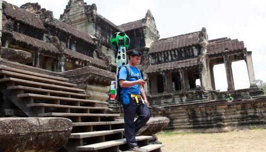 Trekkers Street View Angkor
