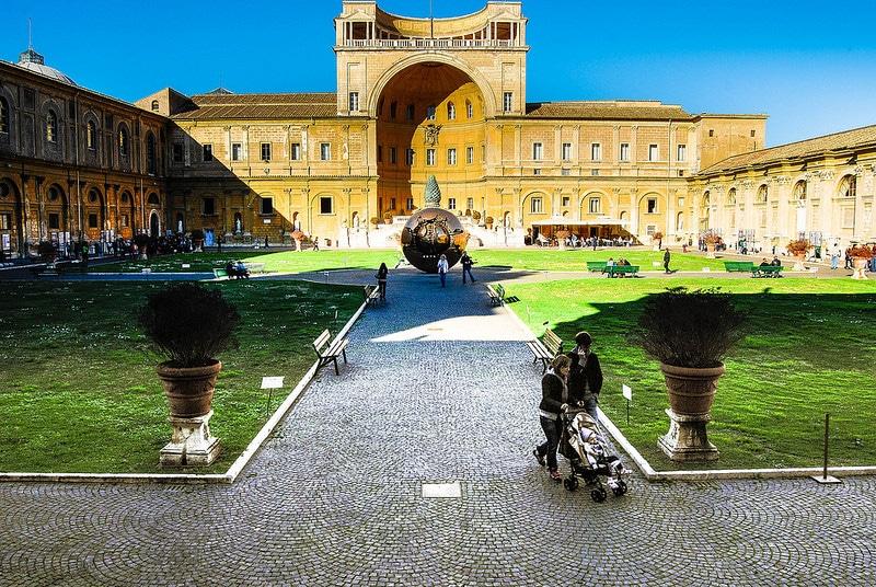 Visite des musées du Vatican à Rome