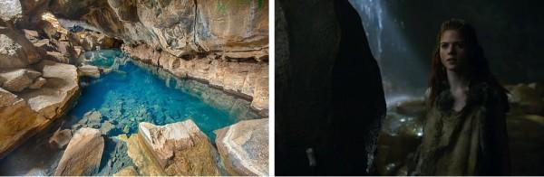 Game of Thrones, Grotte de Grjótagjá, Islande