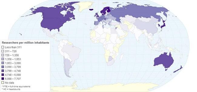 23-carte-nombre-chercheurs-monde