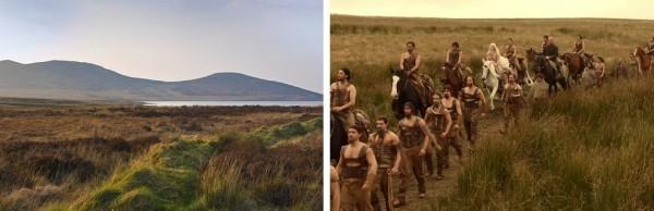 Game of Thrones, Montagnes de Mourne, Irlande du Nord