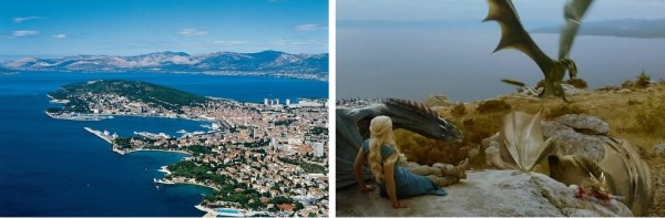 Game of Thrones, Split, Croatie