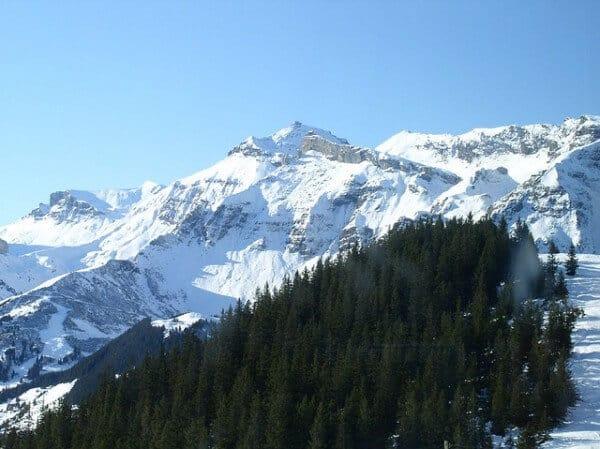 Alpes bernoises Grindelwald Suisse Star Wars