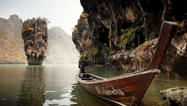 Baie de Phang Nga, Thaïlande, Star Wars