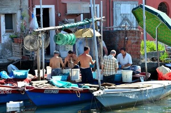 Bateau marché de Marsaxlokk