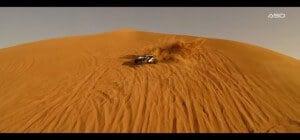 Buggy dans les dunes emirats arabes unis