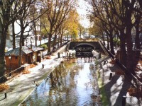 Canal Saint-Martin Paris