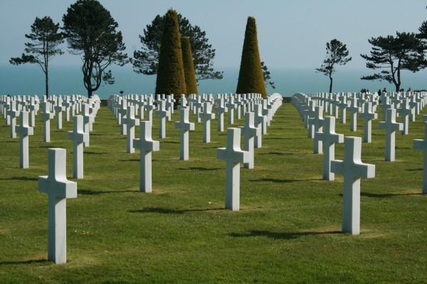 Cimetière Normandie Débarquement 44