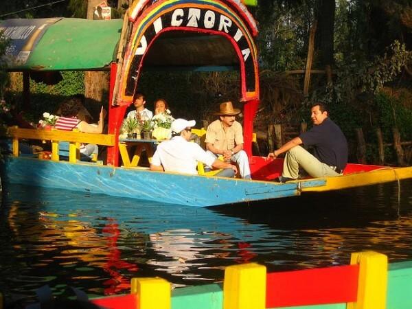 Croisière jardins flottants Xochimilco Mexico