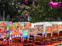 Trajineras Croisière jardins flottants Xochimilco Mexico
