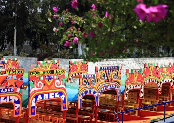 Visiter les jardins flottants de Xochimilco à Mexico