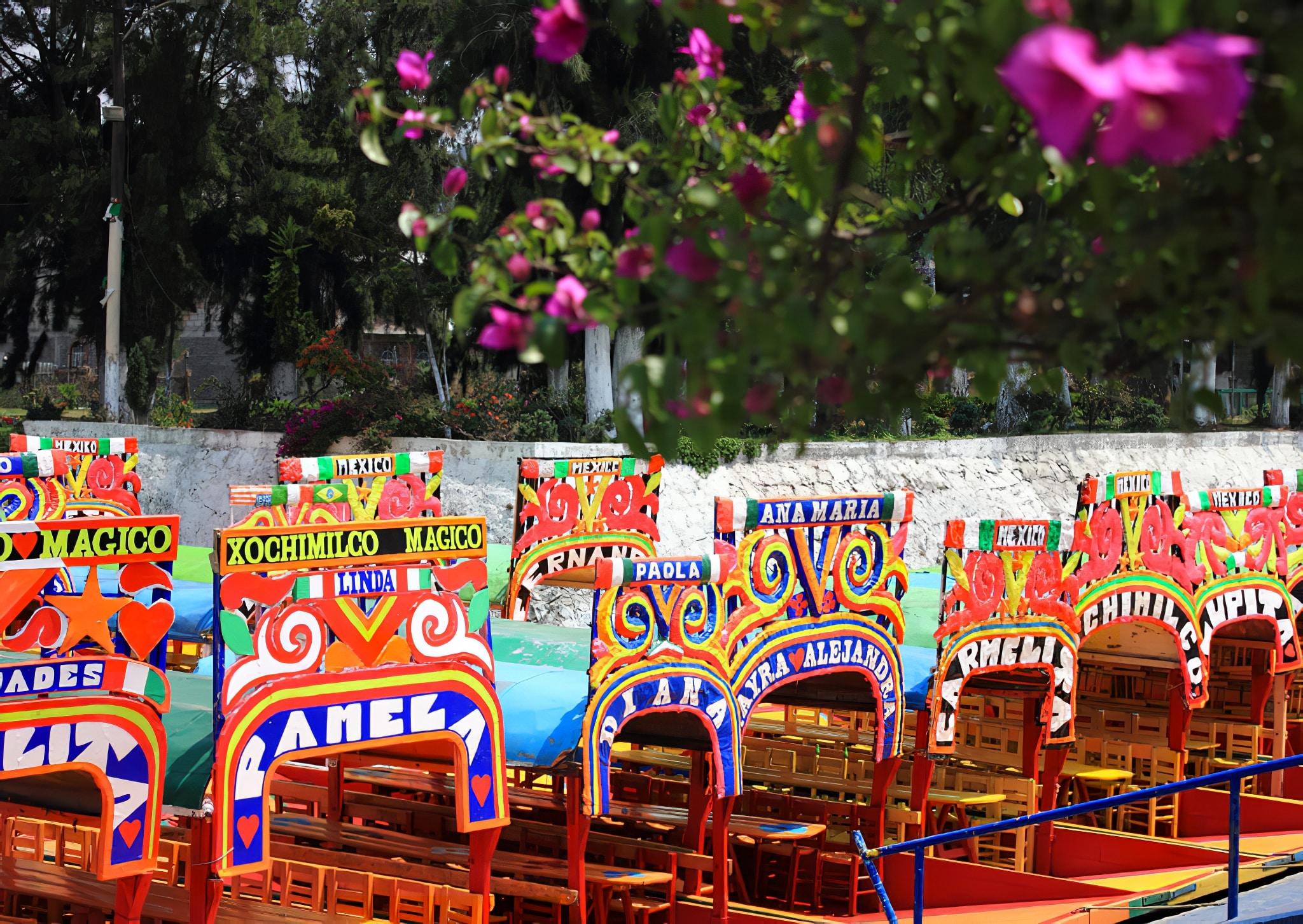 croisi re aux jardins flottants de xochimilco