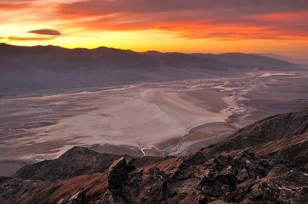 Dante's View, Vallée de la Mort, Star Wars