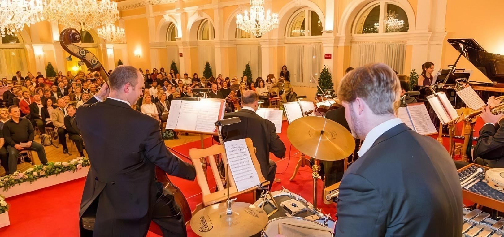 Dîner-concert au Kursalon, Vienne