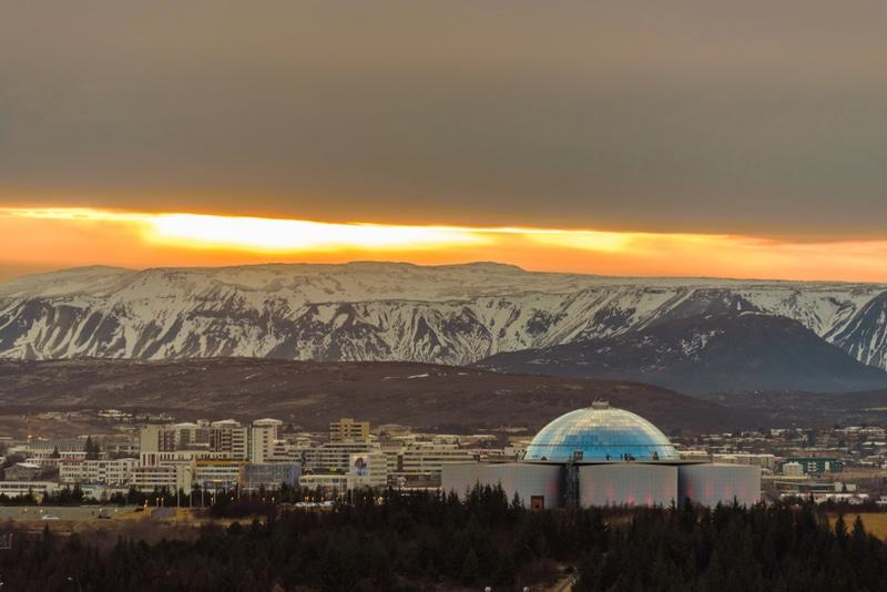 Dôme de Perlan, Reykjavik