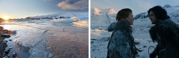 Game of Thrones, parc national Vatnajokull