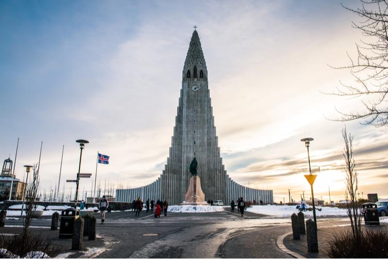 Eglise Hallgrimskirkja, Reykjavik
