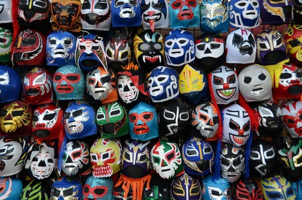 Lucha Libre masque Mexico