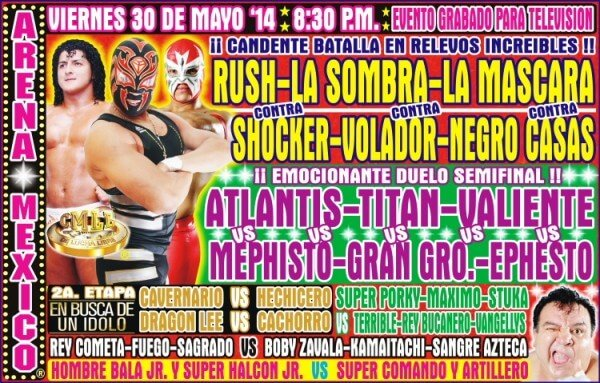 Lucha Libre Mexico City