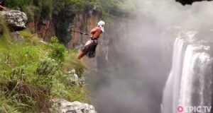 Magwa Falls rope-swing