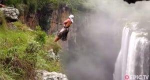 Magwa Falls rope-swing