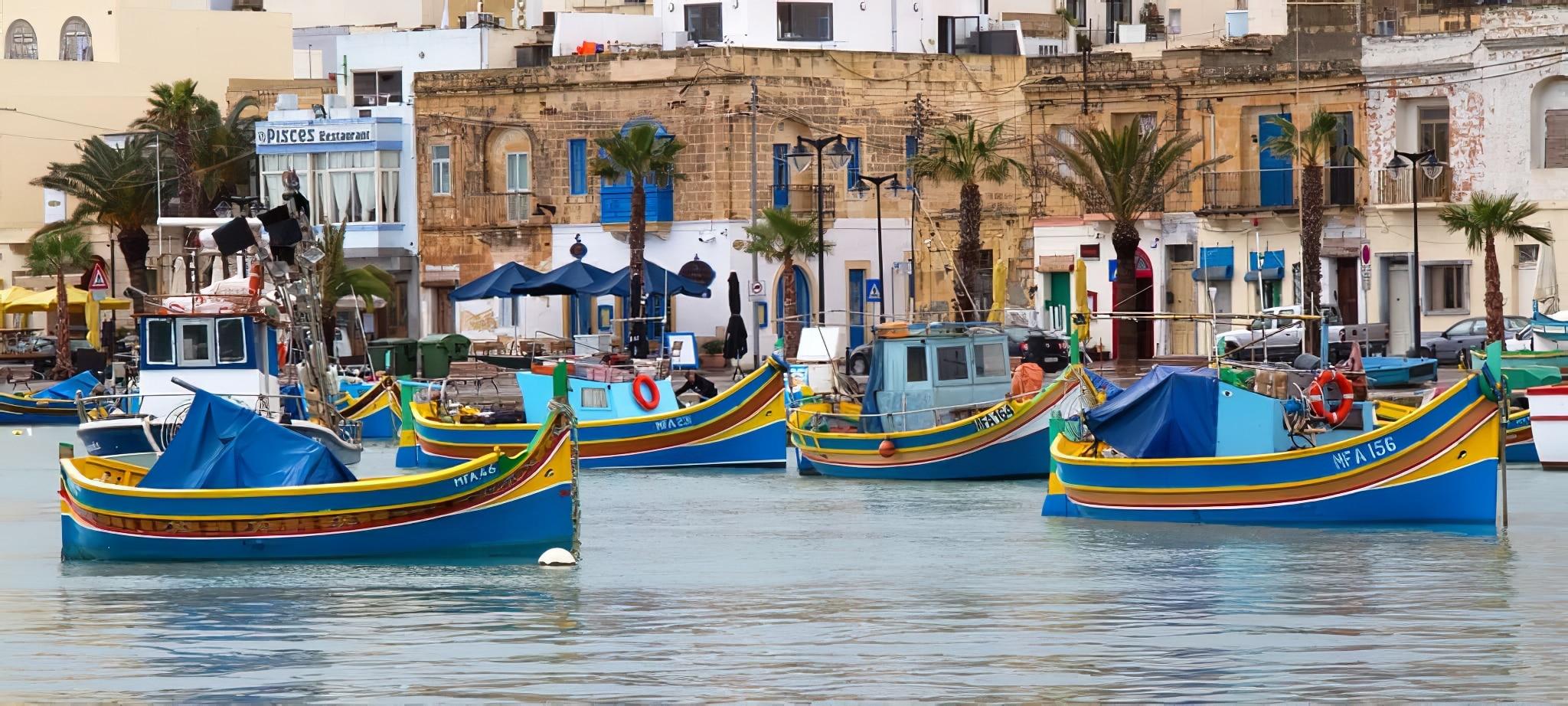 Marsaxlokk zoom sur ce petit village de p cheurs malte for Sejour complet malte