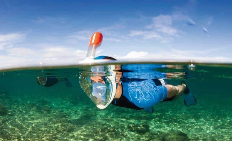 La marque française Tribord sort un masque Easybreath pour le snorkeling