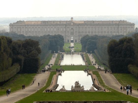 Palais de Caserte, Italie, Star Wars