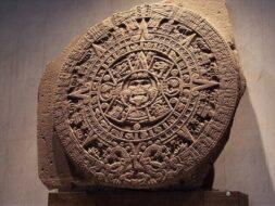 Piedra Del Sol, Pierre du Soleil, Musée national d'anthropologie de Mexico