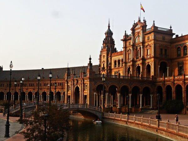 Plaza de España, Seville, Star Wars