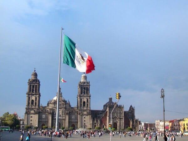 Plaza de la Constitución ou Zócalo Mexico