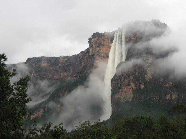 Salto Ángel Venezuela