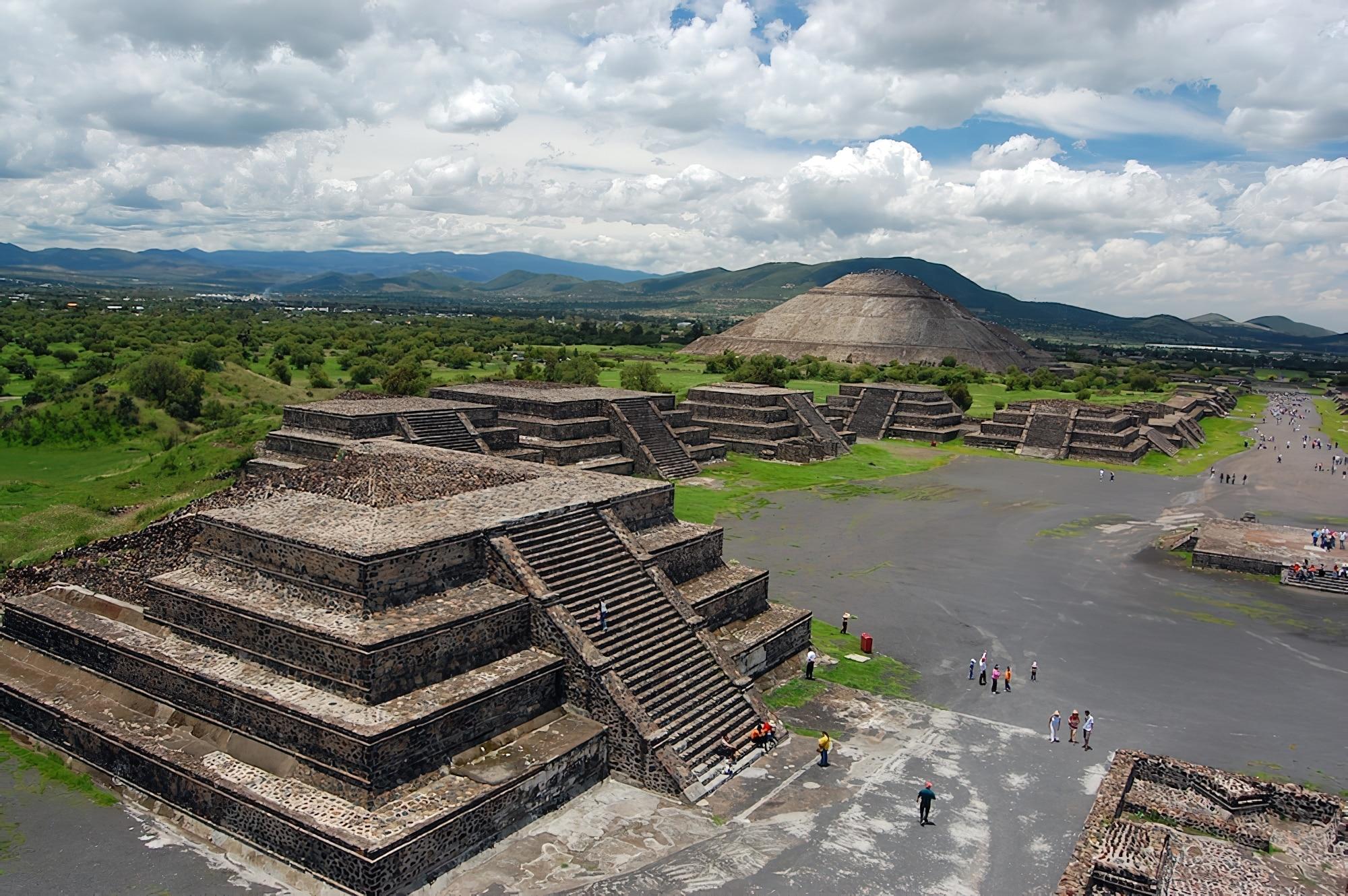 Pyramides de Teotihuacan à Mexico