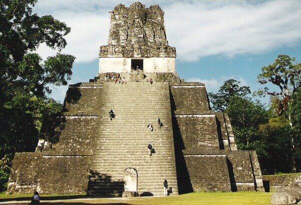 Tikal Guatemala Star Wars