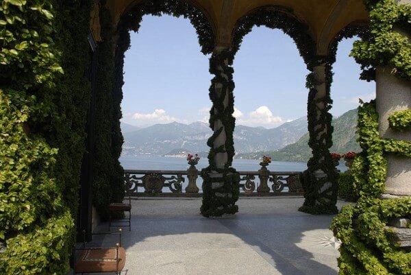 Villa Balbianello, Lac de Côme, Italie, Star Wars