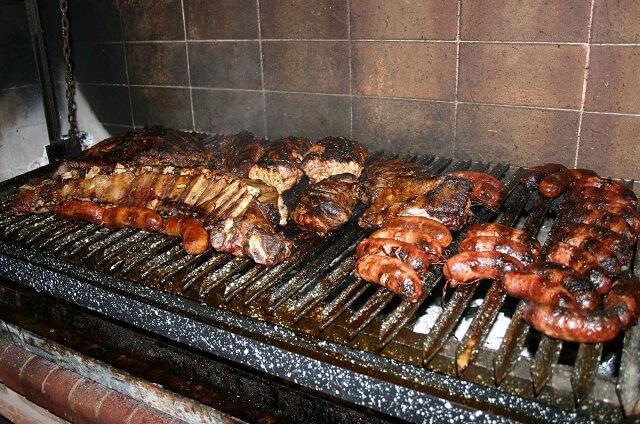 Asado spécialité Uruguay