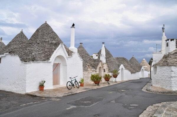 Les maisons à trulli d'Alberobello