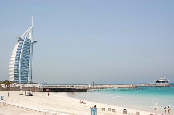Burj Al Arab plage Dubaï