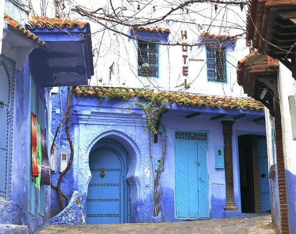 Chefchaouen medina bleue Maroc