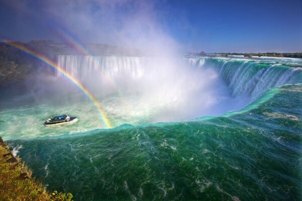 Chutes du Niagara, excursion depuis New York