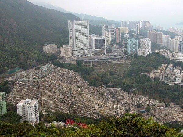 Cimetière Pok Fu Lam Hong Kong