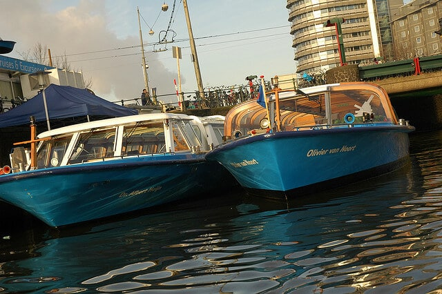 Croisière canal Amsterdam