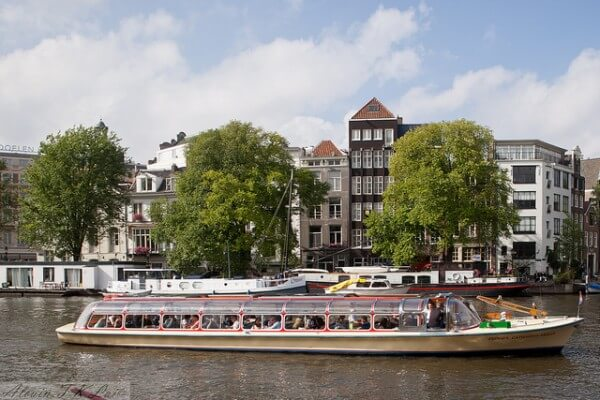Croisière canaux Amsterdam