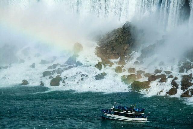 Croisière chutes du Niagara Canada