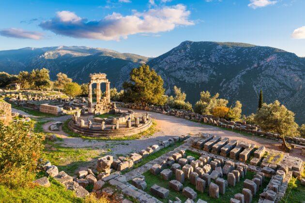 Visiter le site archéologique de Delphes depuis Athènes